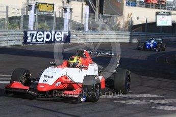 World © Octane Photographic Ltd. Friday 27th May 2015. Formula Renault 2.0 Practice, Cram Motorsport – Henrique Chaves – Monaco, Monte-Carlo. Digital Ref :1565CB7D1109