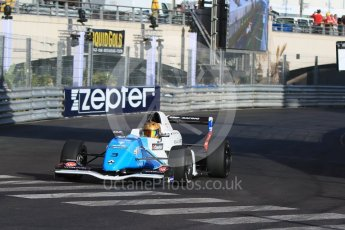 World © Octane Photographic Ltd. Friday 27th May 2015. Formula Renault 2.0 Practice, Josef Kaufmann Racing – Robert Shwartzman – Monaco, Monte-Carlo. Digital Ref :1565CB7D1136