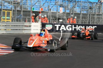 World © Octane Photographic Ltd. Friday 27th May 2015. Formula Renault 2.0 Practice, AVF by Adrian Valles – Harrison Scott– Monaco, Monte-Carlo. Digital Ref :1565LB1D8061