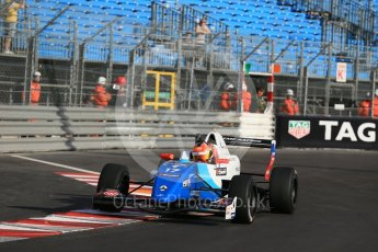 World © Octane Photographic Ltd. Friday 27th May 2015. Formula Renault 2.0 Practice, JD Motorsport - Aleksey Korneev – Monaco, Monte-Carlo. Digital Ref :1565LB1D8073