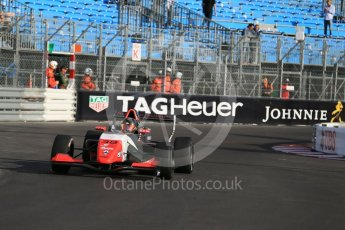 World © Octane Photographic Ltd. Friday 27th May 2015. Formula Renault 2.0 Practice, MGR Motorsport – David Porcelli – Monaco, Monte-Carlo. Digital Ref :1565LB1D8096