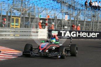 World © Octane Photographic Ltd. Friday 27th May 2015. Formula Renault 2.0 Practice, Fortec Motorsports – Bruno Baptista – Monaco, Monte-Carlo. Digital Ref :1565LB1D8238