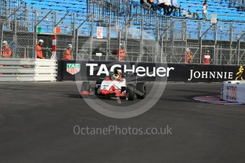 World © Octane Photographic Ltd. Friday 27th May 2015. Formula Renault 2.0 Practice, Cram Motorsport – Henrique Chaves – Monaco, Monte-Carlo. Digital Ref :1565LB1D8282