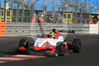 World © Octane Photographic Ltd. Friday 27th May 2015. Formula Renault 2.0 Practice, Cram Motorsport – Henrique Chaves – Monaco, Monte-Carlo. Digital Ref :1565LB1D8288