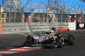 World © Octane Photographic Ltd. Friday 27th May 2015. Formula Renault 2.0 Practice, Josef Kaufmann Racing – Jehan Daruvala – Monaco, Monte-Carlo. Digital Ref :1565LB1D8349
