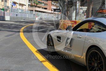 World © Octane Photographic Ltd. Mercedes AMG GT Safety Car. Friday 27th May 2016, GP2 Race 1, Monaco, Monte Carlo. Digital Ref :1566CB1D7690