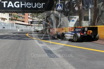 World © Octane Photographic Ltd. Russian Time - GP2/11 – Artem Markelov leaves the pits. Friday 27th May 2016, GP2 Race 1, Monaco, Monte Carlo. Digital Ref :1566CB1D7719
