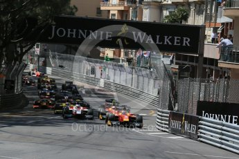 World © Octane Photographic Ltd. Racing Engineering - GP2/11 – Norman Nato. Friday 27th May 2016, GP2 Race 1 start, Monaco, Monte Carlo. Digital Ref :1566LB1D8622