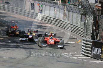 World © Octane Photographic Ltd. Arden International - GP2/11 – Jimmy Eriksson and Trident –Philo Paz Armand. Friday 27th May 2016, GP2 Race 1, Monaco, Monte Carlo. Digital Ref :1566LB5D7997