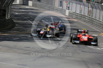 World © Octane Photographic Ltd. Arden International - GP2/11 – Jimmy Eriksson and Trident –Philo Paz Armand. Friday 27th May 2016, GP2 Race 1, Monaco, Monte Carlo. Digital Ref :1566LB5D7999