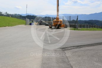 World © Octane Photographic Ltd. West loop of the old Osterreichring circuit - back onto the new circuit. Thursday 30th June 2016, F1 Austrian GP, Red Bull Ring, Spielberg, Austria. Digital Ref : 1597CB5D2478