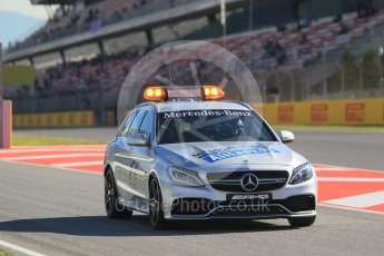 World © Octane Photographic Ltd. Safety car. Friday 13th May 2016, F1 Spanish GP - Practice 1, Circuit de Barcelona Catalunya, Spain. Digital Ref : 1536CB1D6733