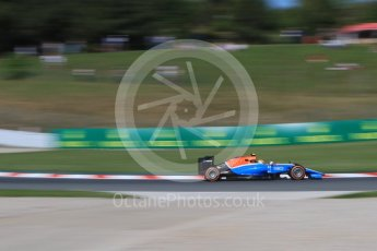 World © Octane Photographic Ltd. Manor Racing MRT05 – Rio Haryanto. Friday 13th May 2016, F1 Spanish GP - Practice 1, Circuit de Barcelona Catalunya, Spain. Digital Ref : 1536CB7D6616