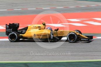 World © Octane Photographic Ltd. Renault Sport F1 Team RS16 – Jolyon Palmer. Friday 13th May 2016, F1 Spanish GP - Practice 2, Circuit de Barcelona Catalunya, Spain. Digital Ref : 1539CB1D8191