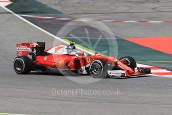 World © Octane Photographic Ltd. Scuderia Ferrari SF16-H – Kimi Raikkonen. Friday 13th May 2016, F1 Spanish GP - Practice 2, Circuit de Barcelona Catalunya, Spain. Digital Ref : 1539CB1D8265
