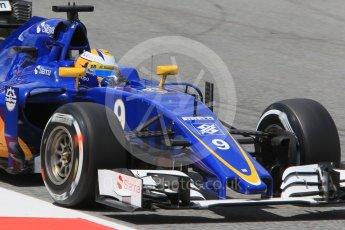 World © Octane Photographic Ltd. Sauber F1 Team C35 – Marcus Ericsson. Friday 13th May 2016, F1 Spanish GP Practice 2, Circuit de Barcelona Catalunya, Spain. Digital Ref : 1539CB1D8472