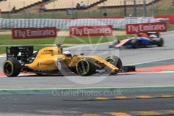 World © Octane Photographic Ltd. Renault Sport F1 Team RS16 - Kevin Magnussen. Friday 13th May 2016, F1 Spanish GP Practice 2, Circuit de Barcelona Catalunya, Spain. Digital Ref : 1539CB1D8700