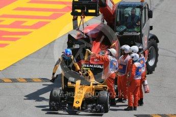 World © Octane Photographic Ltd. Renault Sport F1 Team RS16 – Jolyon Palmer. Friday 13th May 2016, F1 Spanish GP Practice 2, Circuit de Barcelona Catalunya, Spain. Digital Ref : 1539LB1D5095