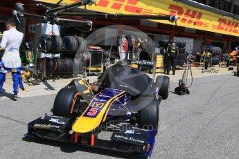 World © Octane Photographic Ltd. DAMS - GP2/11 – Alex Lynn. Friday 13th May 2016, GP2 Practice, Circuit de Barcelona Catalunya, Spain. Digital Ref :1538CB7D6691