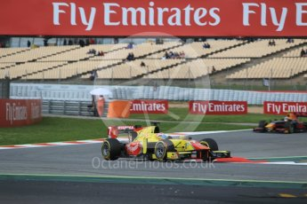 World © Octane Photographic Ltd. Pertamina Campos Racing - GP2/11 – Mitch Evans. Friday 13th May 2016, GP2 Qualifying, Circuit de Barcelona Catalunya, Spain. Digital Ref :1541CB1D8755
