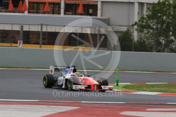 World © Octane Photographic Ltd. MP Motorsport - GP2/11 – Oliver Rowland. Friday 13th May 2016, GP2 Qualifying, Circuit de Barcelona Catalunya, Spain. Digital Ref :1541CB7D6754