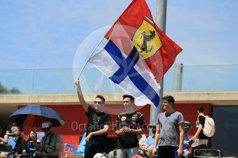 World © Octane Photographic Ltd. Fans. Saturday 14th May 2016, F1 Spanish GP - Qualifying, Circuit de Barcelona Catalunya, Spain. Digital Ref : 1546CB1D9668