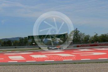 World © Octane Photographic Ltd. Mercedes AMG Petronas W07 Hybrid – Nico Rosberg. Saturday 14th May 2016, F1 Spanish GP - Qualifying, Circuit de Barcelona Catalunya, Spain. Digital Ref : 1546LB1D6848