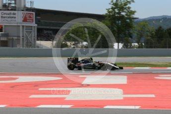 World © Octane Photographic Ltd. Sahara Force India VJM09 - Sergio Perez. Saturday 14th May 2016, F1 Spanish GP - Qualifying, Circuit de Barcelona Catalunya, Spain. Digital Ref : 1546LB1D6869