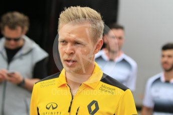 World © Octane Photographic Ltd. Renault Sport F1 Team RS16 - Kevin Magnussen. Sunday 15th May 2016, F1 Spanish GP Paddock, Circuit de Barcelona Catalunya, Spain. Digital Ref :