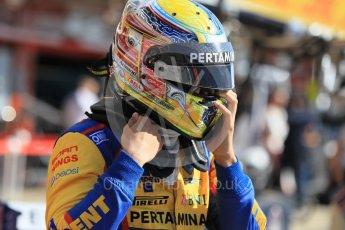 World © Octane Photographic Ltd. Trident - GP2/11 –Philo Paz Armand. Sunday 15th May 2016, GP2 Race 2, Circuit de Barcelona Catalunya, Spain. Digital Ref :1551CB1D0926