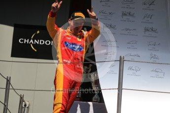 World © Octane Photographic Ltd. Racing Engineering - GP2/11 – Jordan King (3rd). Sunday 15th May 2016, GP2 Race 2, Circuit de Barcelona Catalunya, Spain. Digital Ref :1551CB1D1036