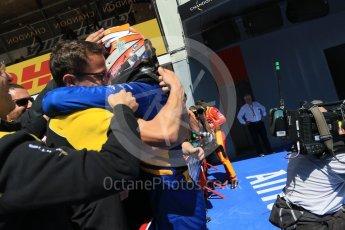 World © Octane Photographic Ltd. DAMS - GP2/11 – Alex Lynn (1st). Sunday 15th May 2016, GP2 Race 2, Circuit de Barcelona Catalunya, Spain. Digital Ref :1551CB7D8159