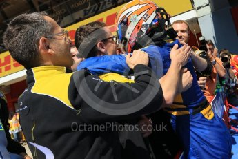 World © Octane Photographic Ltd. DAMS - GP2/11 – Alex Lynn (1st). Sunday 15th May 2016, GP2 Race 2, Circuit de Barcelona Catalunya, Spain. Digital Ref :1551CB7D8164