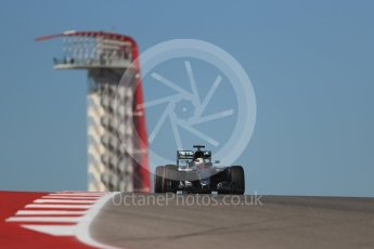World © Octane Photographic Ltd. Mercedes AMG Petronas W07 Hybrid – Lewis Hamilton. Friday 21st October 2016, F1 USA Grand Prix Practice 1, Austin, Texas – Circuit of the Americas (COTA). Digital Ref :1742LB1D0364