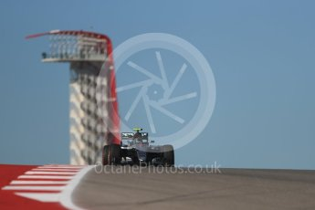 World © Octane Photographic Ltd. Mercedes AMG Petronas W07 Hybrid – Nico Rosberg. Friday 21st October 2016, F1 USA Grand Prix Practice 1, Austin, Texas – Circuit of the Americas (COTA). Digital Ref :1742LB1D0373