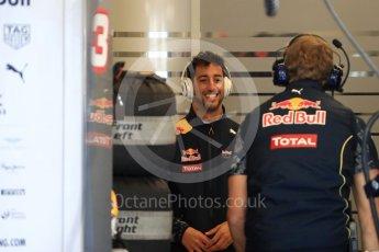 World © Octane Photographic Ltd. Red Bull Racing RB12 – Daniel Ricciardo. Saturday 22nd October 2016, F1 USA Grand Prix Practice 3, Austin, Texas – Circuit of the Americas (COTA). Digital Ref :1745LB1D1696