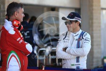 World © Octane Photographic Ltd. Williams Martini Racing, Williams Mercedes FW38 – Felipe Massa. Saturday 22nd October 2016, F1 USA Grand Prix Practice 3, Austin, Texas – Circuit of the Americas (COTA). Digital Ref :1745LB1D1774