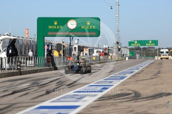 World © Octane Photographic Ltd. Sahara Force India VJM09 - Nico Hulkenberg. Saturday 22nd October 2016, F1 USA Grand Prix Practice 3, Austin, Texas – Circuit of the Americas (COTA). Digital Ref :1745LB1D1958