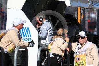 World © Octane Photographic Ltd. Manor Racing pit wall. Saturday 22nd October 2016, F1 USA Grand Prix Practice 3, Austin, Texas – Circuit of the Americas (COTA). Digital Ref :1745LB1D2076
