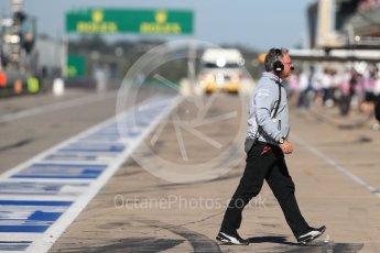 World © Octane Photographic Ltd. Manor Racing pit wall. Saturday 22nd October 2016, F1 USA Grand Prix Practice 3, Austin, Texas – Circuit of the Americas (COTA). Digital Ref :1745LB1D2210