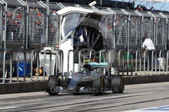 World © Octane Photographic Ltd. Mercedes AMG Petronas W07 Hybrid – Nico Rosberg. Saturday 22nd October 2016, F1 USA Grand Prix Practice 3, Austin, Texas – Circuit of the Americas (COTA). Digital Ref :1745LB1D2515