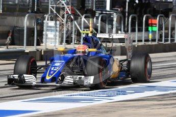 World © Octane Photographic Ltd. Sauber F1 Team C35 – Felipe Nasr. Saturday 22nd October 2016, F1 USA Grand Prix Practice 3, Austin, Texas – Circuit of the Americas (COTA). Digital Ref :1745LB1D2536