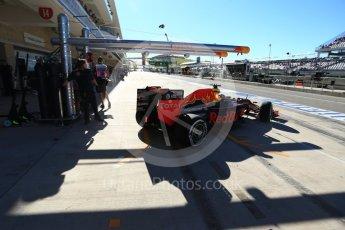 World © Octane Photographic Ltd. Red Bull Racing RB12 – Daniel Ricciardo. Saturday 22nd October 2016, F1 USA Grand Prix Practice 3, Austin, Texas – Circuit of the Americas (COTA). Digital Ref :1745LB2D5279