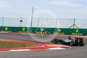 World © Octane Photographic Ltd. Mercedes AMG Petronas W07 Hybrid – Lewis Hamilton. Sunday 23rd October 2016, F1 USA Grand Prix Race, Austin, Texas – Circuit of the Americas (COTA). Digital Ref : 1749LB1D3960