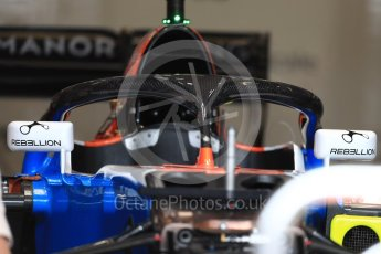 World © Octane Photographic Ltd. Sauber F1 Team C35 with Halo. Thursday 20th October 2016, F1 USA Grand Prix, Austin, Texas – Circuit of the Americas (COTA). Digital Ref :