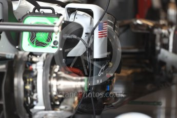 World © Octane Photographic Ltd. Haas F1 Team VF-16 body turning vane. Thursday 20th October 2016, F1 USA Grand Prix, Austin, Texas – Circuit of the Americas (COTA). Digital Ref :