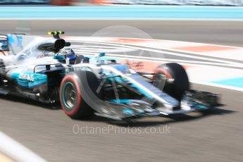World © Octane Photographic Ltd. Formula 1 - Abu Dhabi Grand Prix - Thursday Practice 1. Valtteri Bottas - Mercedes AMG Petronas F1 W08 EQ Energy+. Yas Marina Circuit, Abu Dhabi. Friday 24th November 2017. Digital Ref: