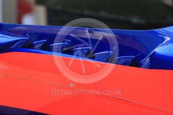 World © Octane Photographic Ltd. Formula 1 - Abu Dhabi Grand Prix - Friday Practice 1. Daniil Kvyat - Scuderia Toro Rosso STR12. Yas Marina Circuit, Abu Dhabi. Friday 24th November 2017. Digital Ref:
