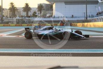 World © Octane Photographic Ltd. Formula 1 - Abu Dhabi Grand Prix - Friday - Practice 2. Valtteri Bottas - Mercedes AMG Petronas F1 W08 EQ Energy+. Yas Marina Circuit, Abu Dhabi. Friday 24th November 2017. Digital Ref: 2003CB1L6126