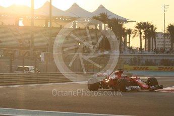 World © Octane Photographic Ltd. Formula 1 - Abu Dhabi Grand Prix - Friday - Practice 2. Sebastian Vettel - Scuderia Ferrari SF70H. Yas Marina Circuit, Abu Dhabi. Friday 24th November 2017. Digital Ref: 2003CB1L6148